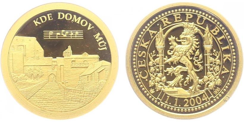 Medaile 2004 - Kde domov můj, PROOF