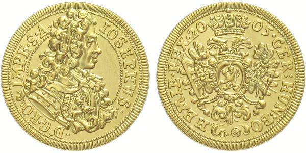 Medaile 2005 - Replika dukátu Josefa I., běžná kvalita