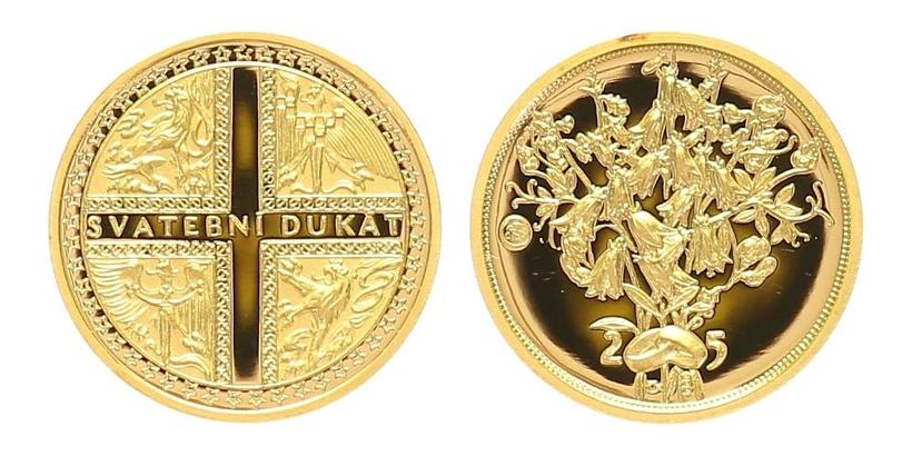 Medaile 2005 - Svatební dukát, PROOF