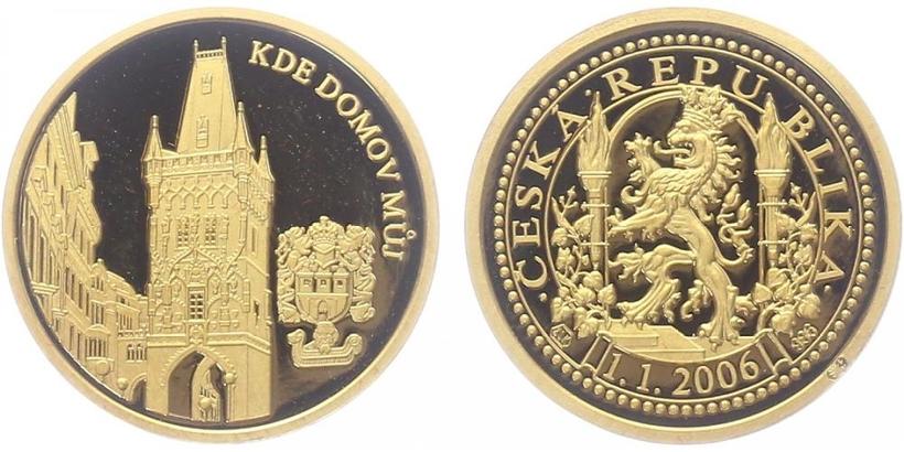 Medaile 2006 - Kde domov můj