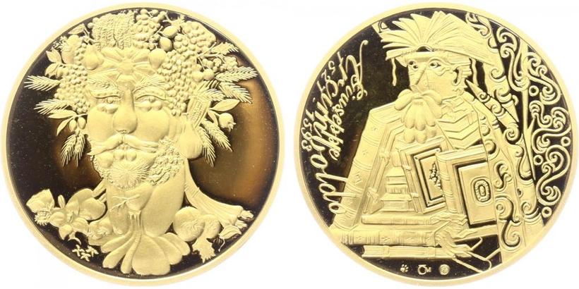 Medaile b.l. - Giuseppe Acimboldo, PROOF
