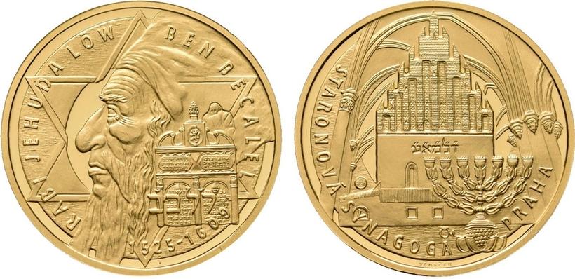 Medaile 2009 - Rabí Jehuda Löw ben Becalel, PROOF