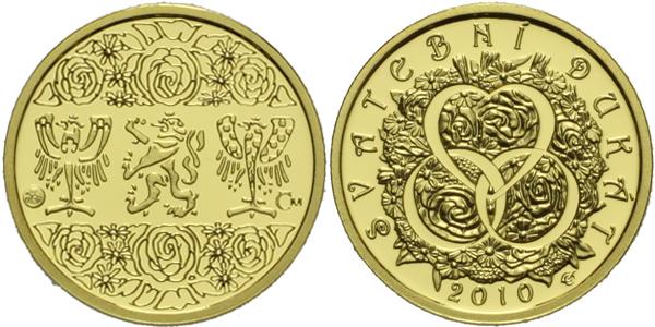Medaile 2009 - Svatební dukát, PROOF