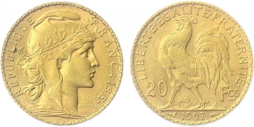 20 Frank 1907
