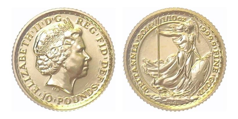 10 Libra 2014 - Britannia