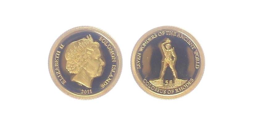 5 Dollar 2011 - Rhodoský Kolos, PROOF