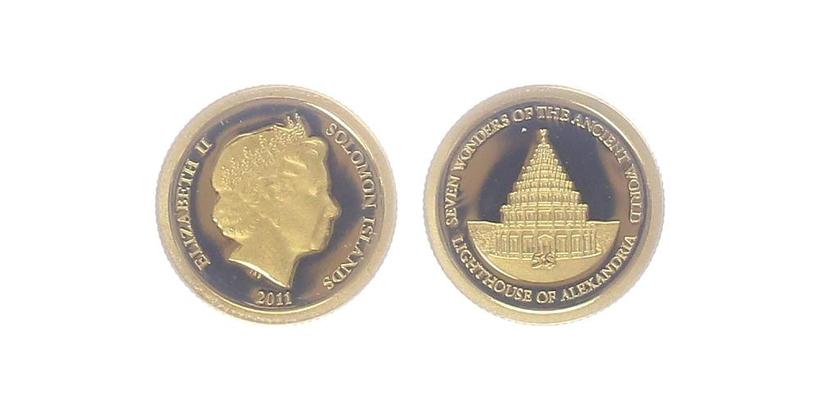 5 Dollar 2011 - Maják na ostrově Faru, PROOF