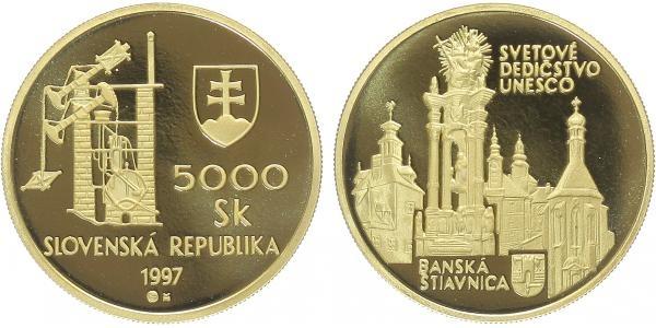 5000 Sk 1997 - Banská Štiavnica