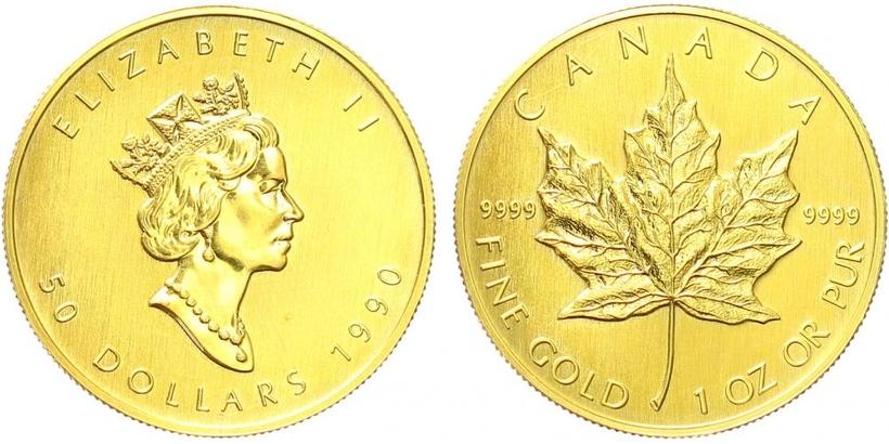 Kanada, 50 Dollar 1990, standart