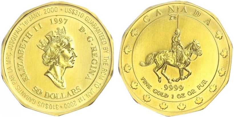Kanada, 50 Dollar 1997, standart