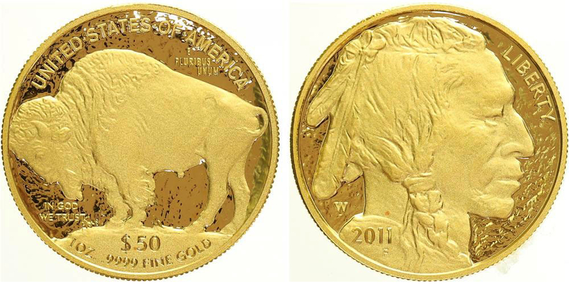 50 Dollar 2011, American Buffalo, PROOF