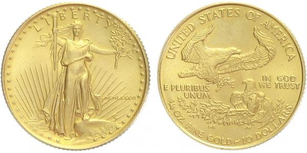 10 Dollars 1986 - Gold Eagle