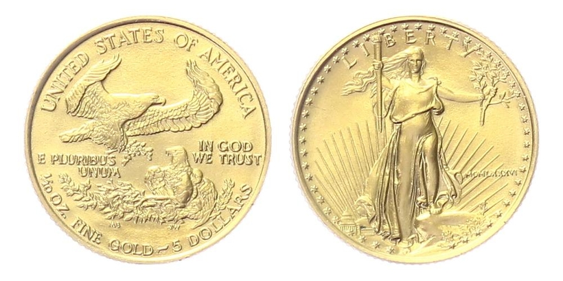 USA, 5 Dollars 2005