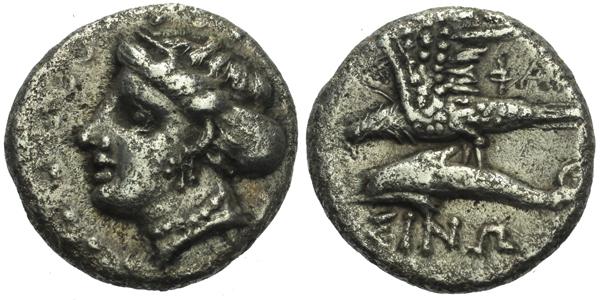Drachma, 415 - 365 BC, Sear. 3693, (4,55g)