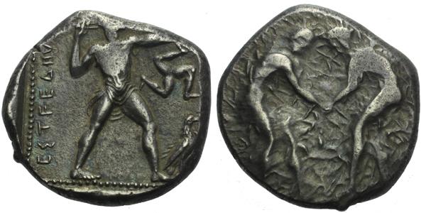 Statér, 370 - 333 BC, Sear. 5396, (10,9g)