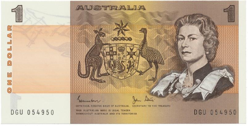 Austrálie, 1 Dollar (1983), P.42d