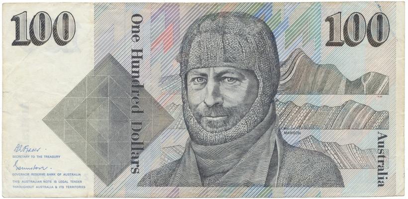 Austrálie, 100 Dollars (1985), P.48b