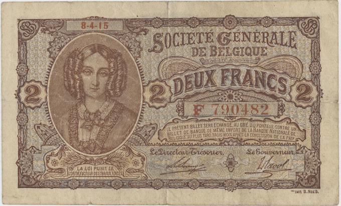 Belgie, 100 Francs (1982), P.142