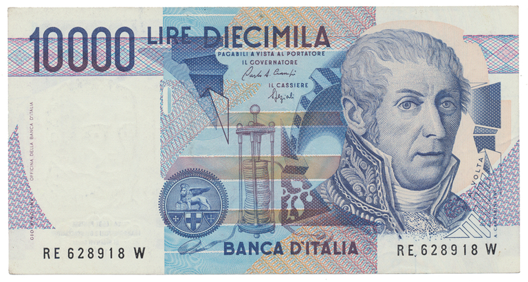 Itálie, 10000 Lire 1984, P.112