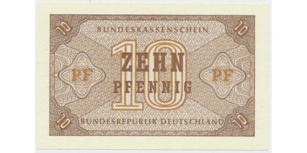 Německo - NSR, 10 Pfennig (1967), Ro.315