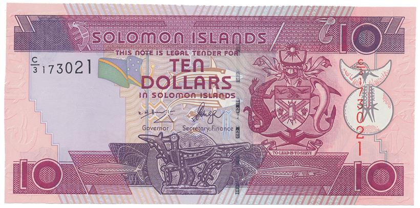 Šalamounovy ostrovy, 10 Dollars (2006), P.27