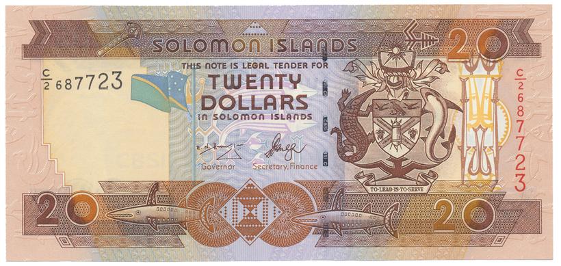 Šalamounovy ostrovy, 20 Dollars (2006), P.28