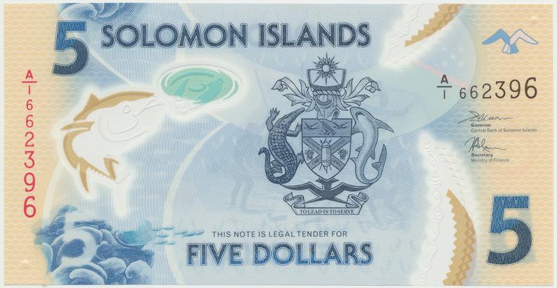 Šalamounovy ostrovy, 5 Dollars (2006), P.26