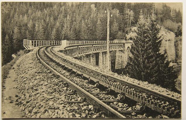 Slovensko, Tisovec, most pod Dielom