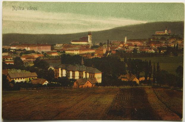 Slovensko, Nitra, Nyitra, celkový pohled