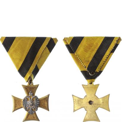 Vojenský služební odznak pro důstojníky, kříž I. třídy za 25 let služby