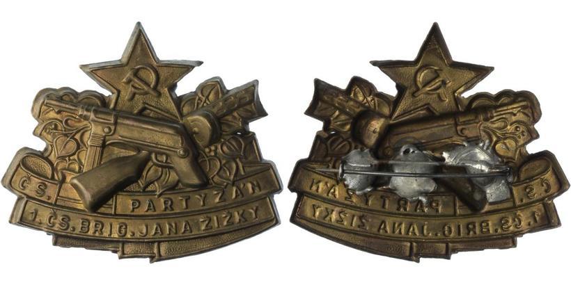 Odznak I. čs. partyzánské brigády Jana Žižky z Trocnova, VM.127