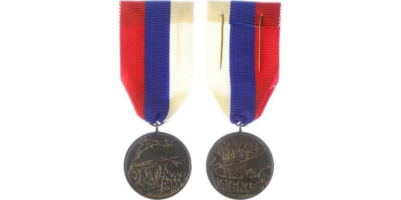 Pamětní medaile Revolučního okresního národního výboru v Nové Pace, VM.204