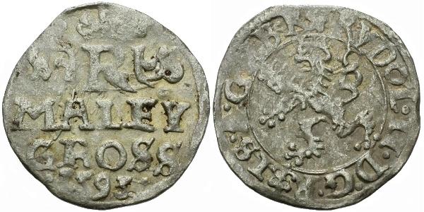 Malý groš 1593, Praha-Ercker, HN.36