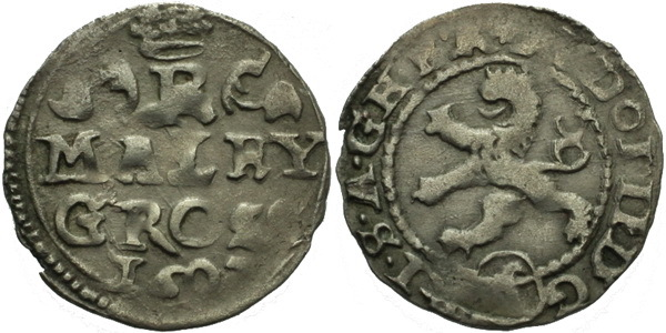 Malý groš 1602, Kutná Hora-Spiess, HN.12b