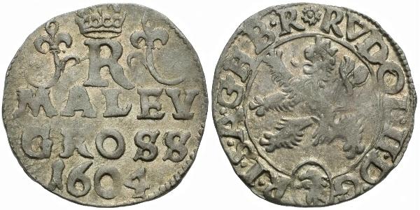 Malý groš 1604, Kutná Hora-Enderle, HN.13a