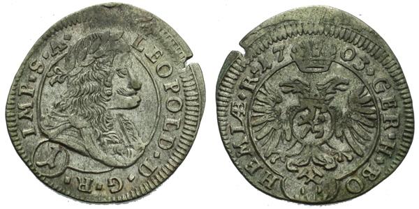 Krejcar 1703, Kutná Hora - Krahe