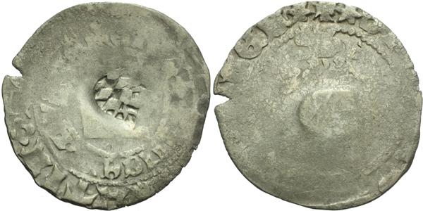 Václav IV., Pražský groš s kontramarkou města Amberg, Sm. 4, Krusy A3,1
