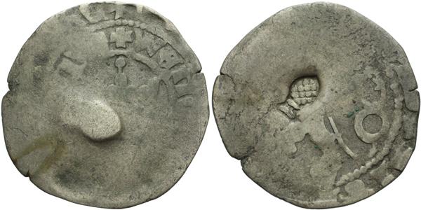 Pražský groš s kontramarkou města Augsburg, Sm. 16, Krusy A6,3