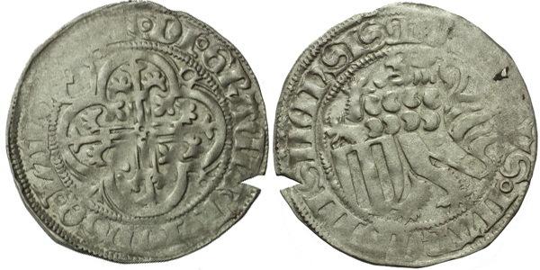 Mečový groš, Colditz, Krug.1151/60