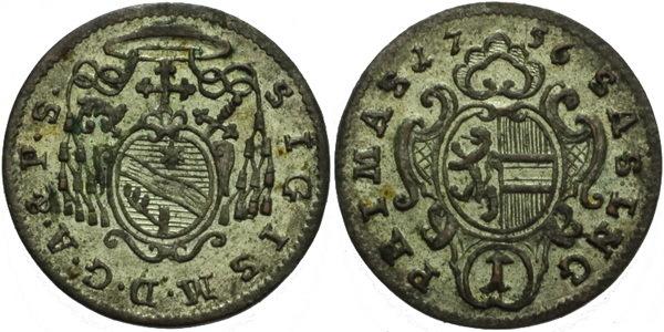 Krejcar 1756