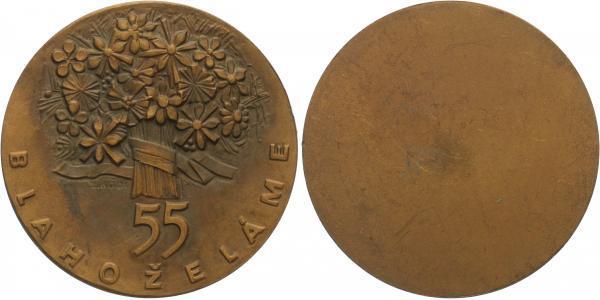 AE Medaile b.l. (L. Bódi), 60 mm