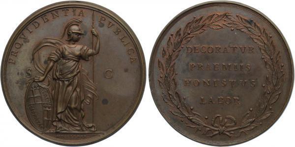 AE Medaile 1781 - Br 63 mm (99,9 g)